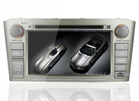 Wholesale Car DVD GPS Navi System For Toyota Avensis With Audio Video Multimedia Radio Bluetooth TV iPod Steering Wheel Control