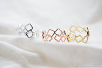 stretch rings - MIN pc rolling square ring adjustable ring stretch ring heart ring mother day gifts cool rings couple rings cute ring mothers ring JZ055