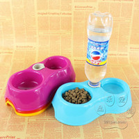 Cheap Y090 automatic water bowl pet supplies pet dog bowl dog bowl double double dog bowl
