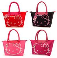 Wholesale Waterproof Hello Kitty Totes Multifunctional Cute Hello Kitty Bags Female Casual Handbag