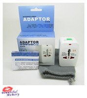 Wholesale All in One Universal power Adaptor International Adapter World Wide Travel Apator power plug adapte