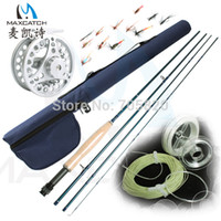fly reel and rod - Super deal Fly Fishing Rod and Reel Outfit with Accessories have extra case pack fly fishing rod sets