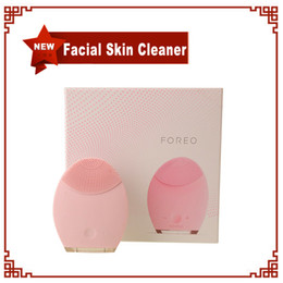 Wholesale Facial Skin Cleaner Luna FOREO LUNA Ultra Sonic Facial Cleaner Electric Facial Clean Instrument beauty instrument