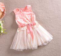 baby girl kids flower tutu dress floral tutu dress lace dres...