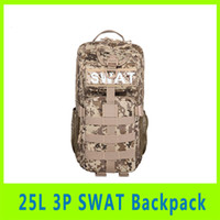 Wholesale 201409 New Men Women Durable Product L P Tactical Military Backpack camouflage backpack Sport Backpack Christmas Gift A279X
