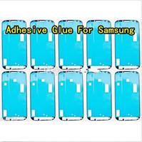 adhesive glue - New Adhesive Glue Sticker Tape For Samsung Galaxy S2 S3 S4 S5 mini I9600 i9500 I9300 N9000 Note N7100 IV III G900 cell pho
