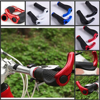 bicycle handlebar grips - New Cycling Gear Grips MTB Mountain Bike Bicycle Handlebar Lock on Grips Rubber Bicycle Grips Bar Ends