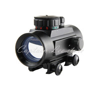 Wholesale Tactical Hunting x30mm Red Dot Scopes Red Green Dot Sights w MOA Reticle with mm Rail Mount