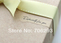 Wholesale kraft stickers quot Especially for you quot cake decoration stickers gift sealing paste decoration stickers