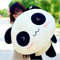 Cheap 20cm Giant Panda Pillow Mini Plush Toys Stuffed Animal Toy Doll Pillow Plush Bolster Pillow Doll Valentine's Day Gift Kids Gift