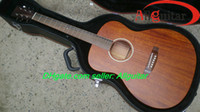 Wholesale All Solid Guitar M Acoustic guitar Real Mahogany Top Back Sides Wood China Guitar