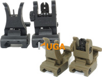 Wholesale A R M S L ARMS Polymer Front Rear Flip up Sight SET Riflescopes