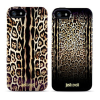 Cheap For iphone 5s 5 Case Luxury Puro Just Cavallis Leopard Snake Print TPU Soft Case Silicon Cover for Apple iphone 5 5S 5G 4 4S