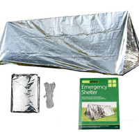 Wholesale Emergency Shelter Outdoor essentials Rescue Thermal Tent Person Tents