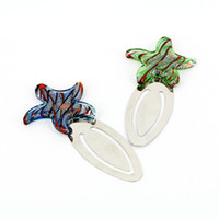 Wholesale HandCraft Murano Glass Starfish Shape Book Thong Book Holder Page Book Marks