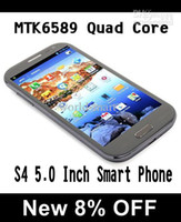 Cheap Wholesale - - Feiteng H9500 S4 Smart Phone Android 4.2 MTK6589 Quad Core 5.0 Inch HD IPS Screen 5.0MP Front Camera