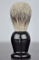 shaving badger silver - Pure badger hair brush silver tip top special road Shaving Brush Badger Shaving Brush Shaving foam resin handle brush
