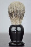 Wholesale Pure badger hair brush silver tip top special road Shaving Brush Badger Shaving Brush Shaving foam resin handle brush