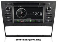 OEM pour BMW Série 3 E90 E91 E92 E93 (2005-2012) automatique A / C Android 4.0 Dans le tableau de bord voiture dvd gps Navigation (carte gratuite) wifi 3G Bluetooth