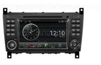OEM pour Mercedes-Benz Classe C W203 (2004-2007), CLK (2004-2005) Android 4.0 dans le tableau de bord voiture gps dvd navigation (carte gratuite) wifi 3G Bluetooth
