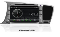 Wholesale OEM for Kia K5 optima Android In dash Car dvd gps Navigation free Map wifi G Bluetooth