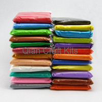 Wholesale 500gram large Super Light Weight Modeling Air Dry Clay Soft Like Squishy After Dry colors you specify color
