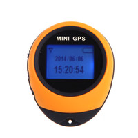 Wholesale Updated PG03 Mini GPS Receiver Tracker Navigation Handheld Location Finder USB Rechargeable with Compass for Outdoor Travel H4012