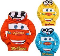 Precio de Coche de camisetas al por mayor-La manera al por mayor de la alta calidad embroma hoody / clothing de los niños del coche de la camiseta / de la camiseta de los coches de la historieta de los niños de los hoodies de los muchachos de los muchachos