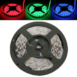 5050 LED NON-Waterproof RGB led strip 60LEDs M 300 LED Light White Blue Red Yellow Green