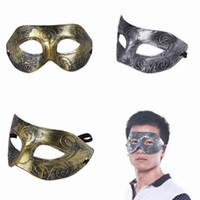 Wholesale 5pcs Venetian Mask Party Prom Mask Women Men Masquerade Masks ZXA