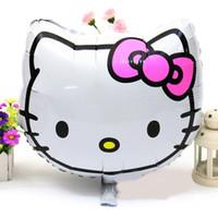 hello kitty balloons - 18inch high quality hello kitty balloon hello kitty birthday party supplies hello kitty party favors foil balloon