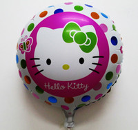Wholesale HOT inch baby girls favorite birthday gift balloon hello kitty cheap balloons for hello kitty party supplies