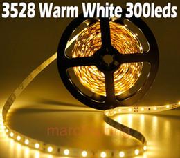 5M 3528 60 LED Non-Waterproof Strip Light DC12V 20W Red Blue Yellow Green Warm White White LED Strip