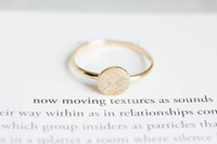 Band Rings antique rose gold engagement rings - 10pcs Gold silver Rose Gold round rings unique rings knuckle ring antique ring vintage style rings JZ082