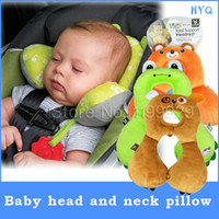 travel pillow - Baby Child Head Neck Support Headrest Travel Car Seat Pillow Cushion baby neck pillow years