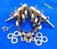 Wholesale 3R3L GROVER Gold Guitar string Tuning Pegs keys Tuners Machine Heads for Acoustic Electric Folk Guitar