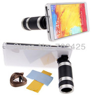 clear cover lens - 8X Zoom Camera Telescope Lens Clear Hard Case Cover For Samsung Galaxy Note III N9000 N9005