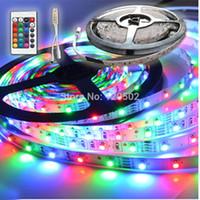 Wholesale NEW RGB SMD LED M LED Strip Light key MINI Remote Control