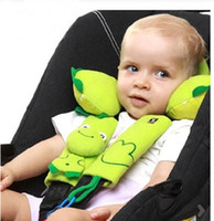 Wholesale Baby Neck Pillow belt protective cover to protect infants and children stroller with car seat HX