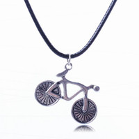 bicycle sweater - Women Alloy Sweater Chain Necklace Bicycle Jewelry Pendants Necklace For Birthday Party Presents XL5573