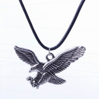 Wholesale Stylish Women Alloy Sweater Chain Necklace Eagle Jewelry Pendants Necklace For Birthday Party Presents XL5576