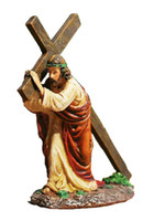 Wholesale Resin Statue the Way of Suffering quot Via Dolorosa quot Jesus Figurine Home Decor