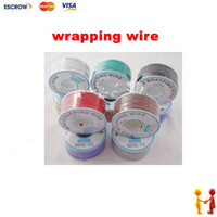 electrical wiring - Freeshipping meters long electrical wire wrapping wire high quality awg ok line q9