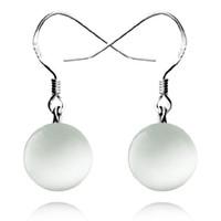 Wholesale Brand New Opals drops sterling silver earrings