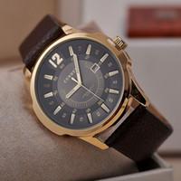 Cheap Curren 8123 watch Best fashion mens wristwatches