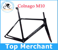 Wholesale New arrive Colnago M10 S full carbon frame road bike Frame bicycle fork headset full black C4 by EMS sell colnago C59 C60