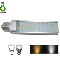 Wholesale Cheap Led Corn Light lm Aluminum LED Horizontal Lamp W G24 E27 Leds SMD2835 SMD Led Lamp Bulb L w e27