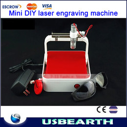 Wholesale 250MW laser power router DIY laser engraver machine Mini laser engraving machine carving seals mobile phone shell best gift