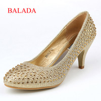 Cheap 2014 New arrival Fashion Simple weeding prom comfortable High Heel 7cm Satin open toe Autumn SY03