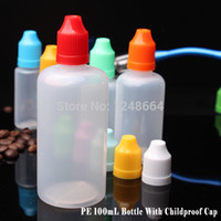 Wholesale 2014 New China Supplier LDPE100ML plastic needle tip bottle ldpe eye dropper bottle plastic container dropper